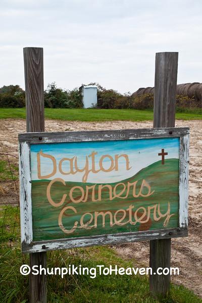 Dayton Corners Cemetery, Richland County, Wisconsin