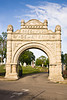 Stone Arch Entrance to Greenwood Cemetery, Zanesville, Ohio
