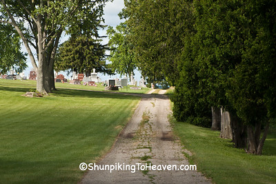 Road to St. Joseph's Cemetery, East Bristol, Wisconsin