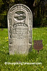 1800's Gravestone with Civil War military marker, Crawford County, Wisconsin