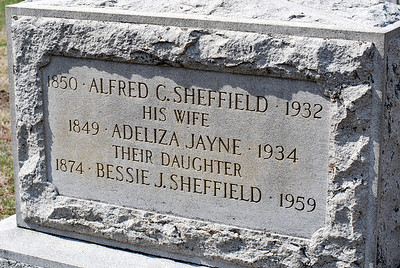 Sheffield Family Grave Marker