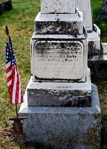 William Jennings, taken prisoner at the Battle of Cedar Creek, Virginia on October 19th, 1864 and died at Salesbury Prison in North Carolina on November 2nd, 1864 at age 39.