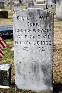Corporal George W. Swain, Civil War Soldier