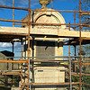 The Orr Memorial, Templecorran Cemetery, Ballycarry. Restoration in progress.