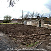 The site of the former Caretakers house at Comber Cemetery. Photo date - 26th April 2013
