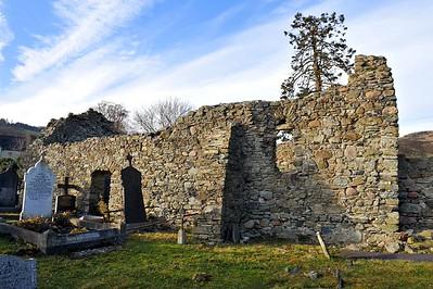 Kilbroney Old Church and Graveyard, Rostrevor, County Down