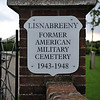 Lisnabreeny Former American Military Cemetery 1943-1948<br /> Situated in the Castlereagh Hills overlooking Belfast, Northern Ireland<br /> Picture Date: 30th May 2014