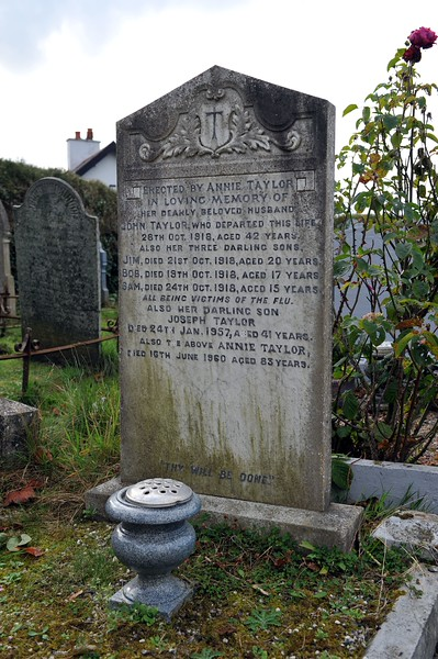 Whitechurch Cemetery,<br /> Ballywalter,<br /> County Down.<br /> Friday, 16th October 2015