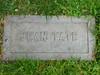 Jean Tate headstone