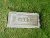 Reed Headstone