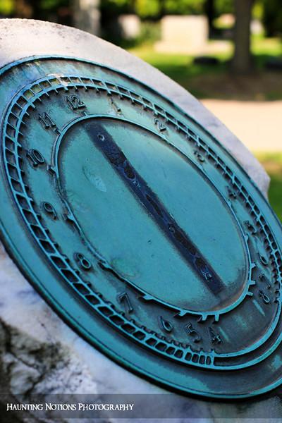 Tempus Fugit (Clinton Grove Cemetery, Clinton Township MI)