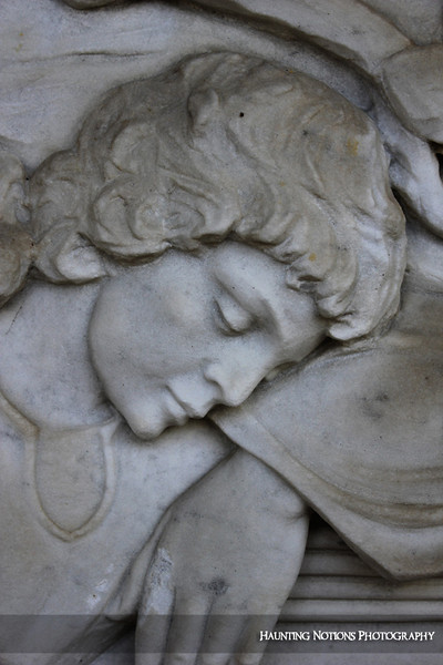 Exhausted (Rosedale Cemetery, Grand Rapids MI)