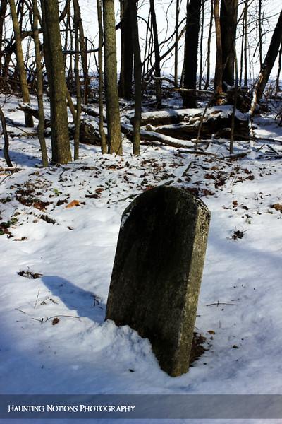 Slanted (Parmalee Cemetery, Parmalee MI)