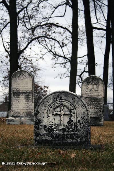 Three Wise Men (Saint Patrick's Cemetery, Bowne Township MI)