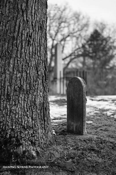At The Foot Of (Ada Cemetery, Ada MI)