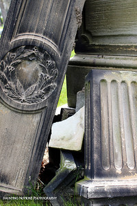 Tumbling Down (Calvary Cemetery, Milwaukee WI)