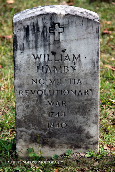 Revolutionary (Cades Cove Primitive Baptist Church Cemetery, Great Smoky Mountains National Park TN)