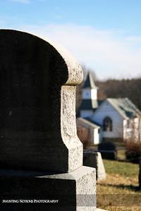 Here Is The Steeple (Whitneyville Cemetery, Whitneyville MI)