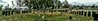 A real cemetery panoramic shot