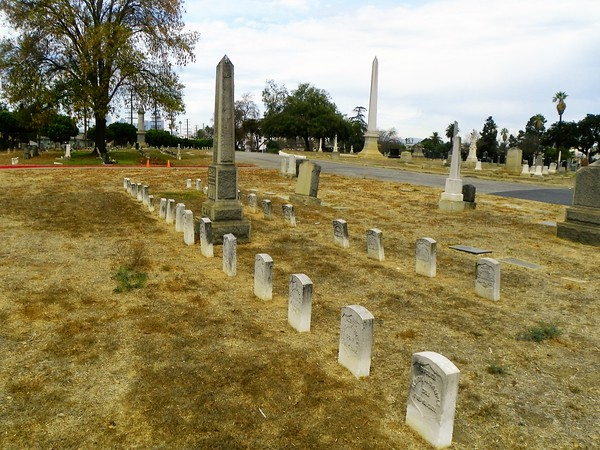 There's something hypnotic about the headstones of Civil War veterans