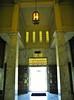 Mausoleum exit view