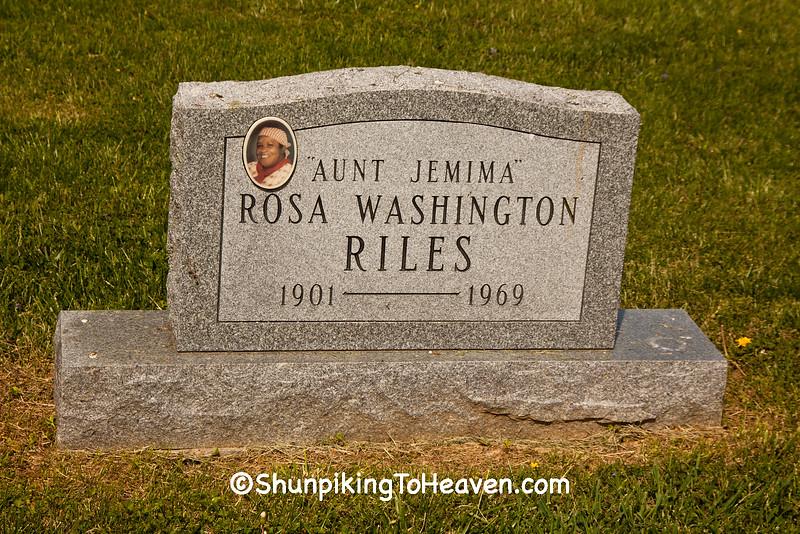 Gravestone of Rosa Washington, Brown County, Ohio
