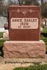 Grave of Annie Oakley, Darke County, Ohio