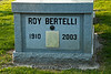 "Gravestone of Roy Bertelli ""Mr Accordian"", Springfield, Illinois"