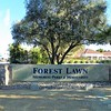 The smallest Forest Lawn is, in reality, a mausoleum.