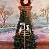 Ya gotta love a Christmas tree with a 7-candle Menorah.
