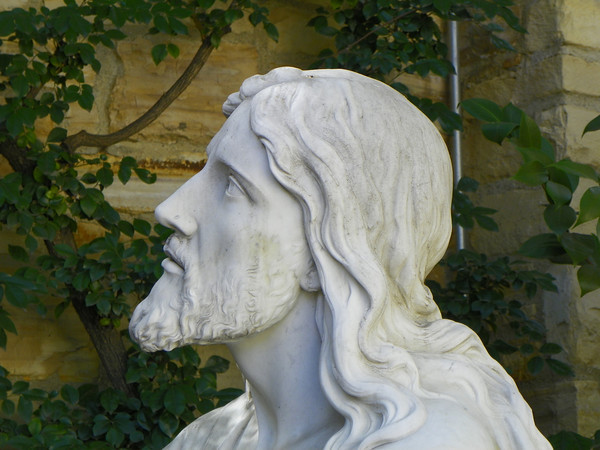 Face of Christ in the Garden of Gethsemane