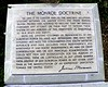 The Monroe Doctrine. James Monroe, 5th President of the U.S. served on the Vestry of St. George's Church