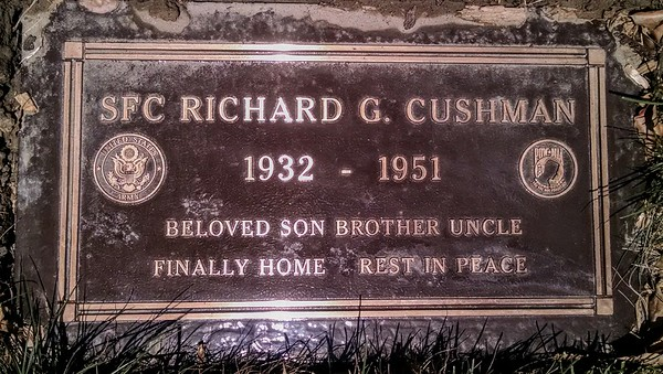 "More than 60 years after he died as a Korean War prisoner, the location of his grave a mystery, Army Sgt. 1st Class Richard Cushman has finally come home.<br /> <br /> The journey to return his remains to his family, who laid Cushman to rest in Cypress, required cooperation between United States and North Korean officials, as well as genealogical research and DNA testing.<br /> Read the story here: <a href=""https://www.ocregister.com/2018/02/03/remains-of-korean-war-pow-are-returned-to-u-s-and-buried-with-family-in-cypress/"">https://www.ocregister.com/2018/02/03/remains-of-korean-war-pow-are-returned-to-u-s-and-buried-with-family-in-cypress/</a>"