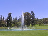 The Heron Fountain in The Duck Pool is Forest Lawn's logo