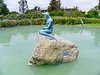 This replica of The Little Mermaid statue was donated by Greer Garson in memory of her mother