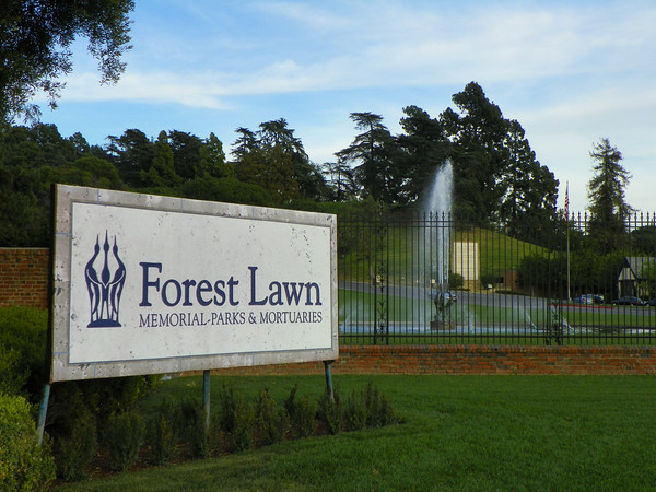 Forest Lawn Glendale. In 1906, a small country cemetery in the town of Tropico, now it is arguably the most famous memorial park / cemetery / graveyard in the world.