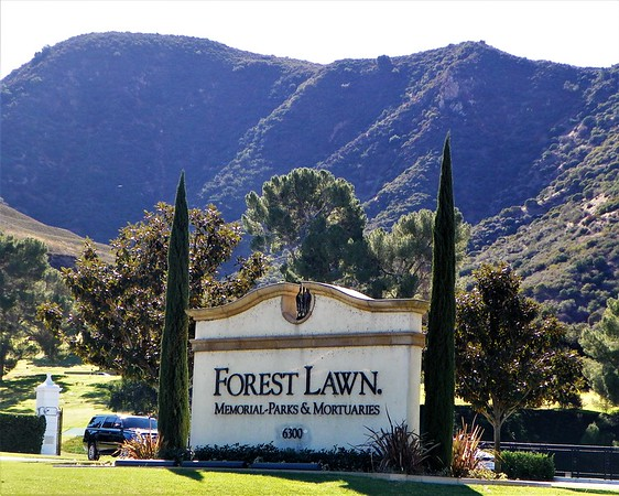 Forest Lawn Hollywood Hills<br /> Before becoming the second Forest Lawn memorial park in 1948, this property was a popular filming location. It was Lasky Ranch until 1948 and, before that, Providencia Ranch.