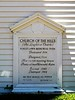 """Church of the Hills - """"The Longfellow Church"""" is a copy of a church in Maine that existed from 1740 to 1824."""