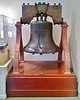 Exact replica of the Liberty Bell. Knott's Berry Farm also has one inside its exact replica of Independence Hall.
