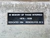 Broadway Cemetery's new plaque