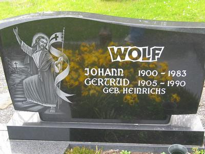 Johann Wolf & Gertrud Heinrichs