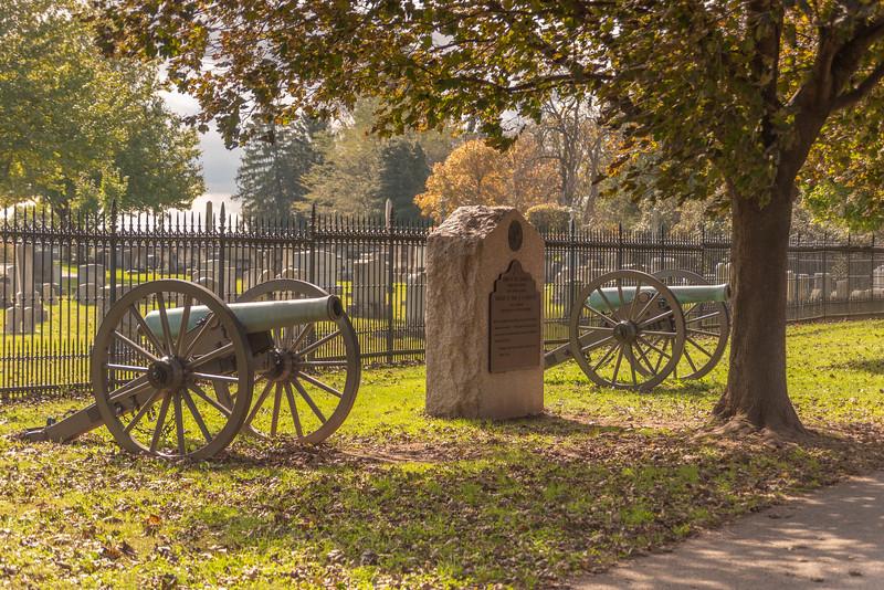 Cannon & Memorial