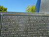 Veteran Memorial names detail