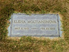 Elena Moltianinova<br /> May 2, 1913 - Feb. 23, 1915