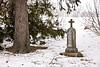 Gravestone at St. Wenceslaus Church Cemetery, Jefferson County, Wisconsin