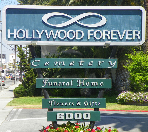 "Hollywood Forever Cemetery & Funeral Home. Opened in 1899 as ""Hollywood Cemetery"" on property obtained from John Gower's widow, Mary, in the 1880's by Isaac Van Nuys and Isaac Lankershim, in-laws and acclaimed real estate developers. Film studios, currently Paramount, have owned and occupied the south 38% of the 100-acre property since 1917."