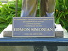 "Edmon Simonian Plaque - he bought the former Hollywood Melrose Hotel (now ""The Historic Hollywood Hotel"") in 1998 and renovated it."