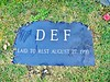 When DEF Records died, it was buried here. Al Sharpton was the officiant...