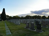 Reminiscent of European graveyards