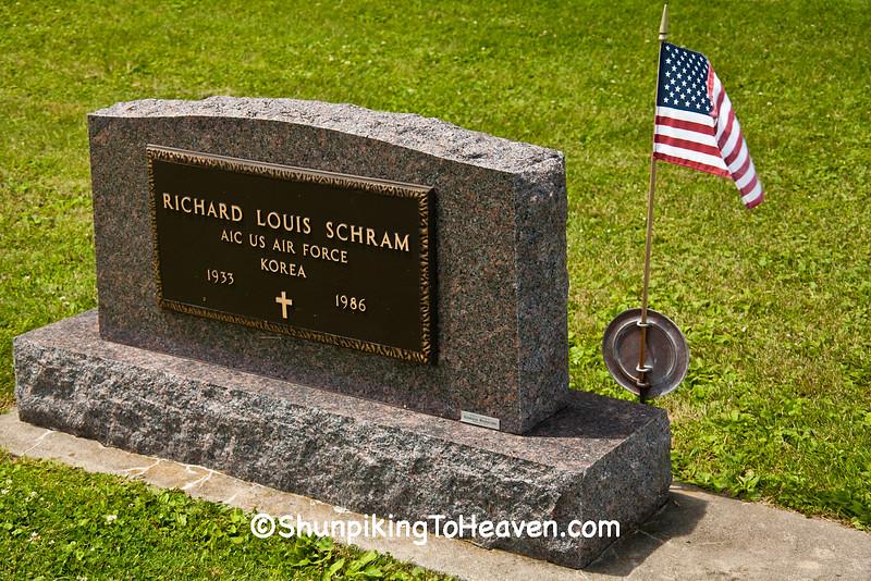 Korean War Veteran, Mackford Union Cemetery, Green Lake County, Wisconsin